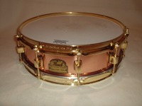 [Pearl Marvin 'Smiity' Smith snare drum]